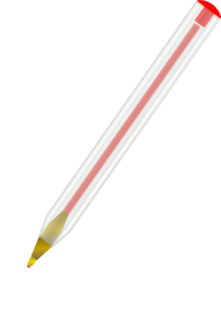 Red Ballpoint Pen Clip Art
