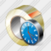 Icon Adhesive Tape Clock Image
