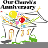 Happy Church Anniversary Clipart Image