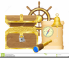 Royalty Free Treasure Chest Clipart Image