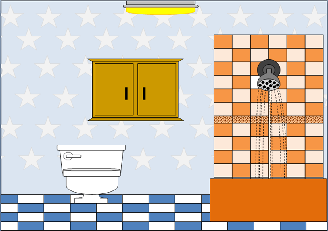 Bathroom 1 Free Images At Clker Com Vector Clip Art