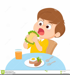 kid eating breakfast clipart free images at clker com vector rh clker com child eating breakfast clipart person eating breakfast clipart