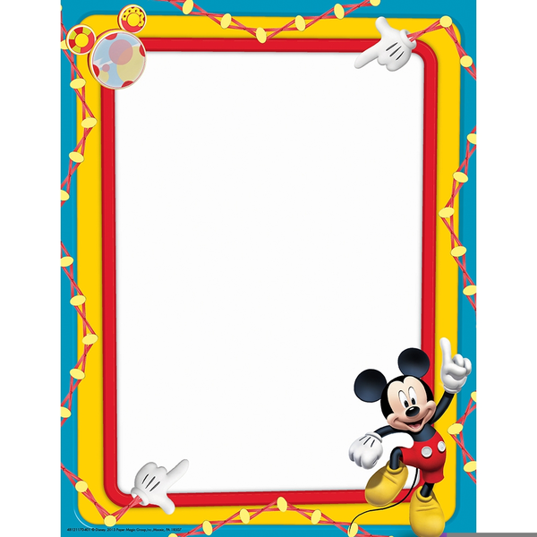 free disney clipart borders free images at clker com vector clip rh clker com Mickey Mouse Borders and Frames Mickey Mouse Clip Art Border
