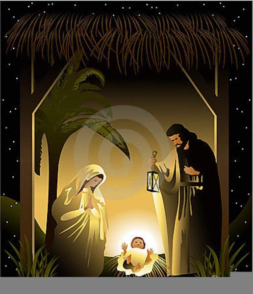 Nativity catholic. Christmas clipart free images