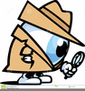 Detective Spy Glass Clipart Image