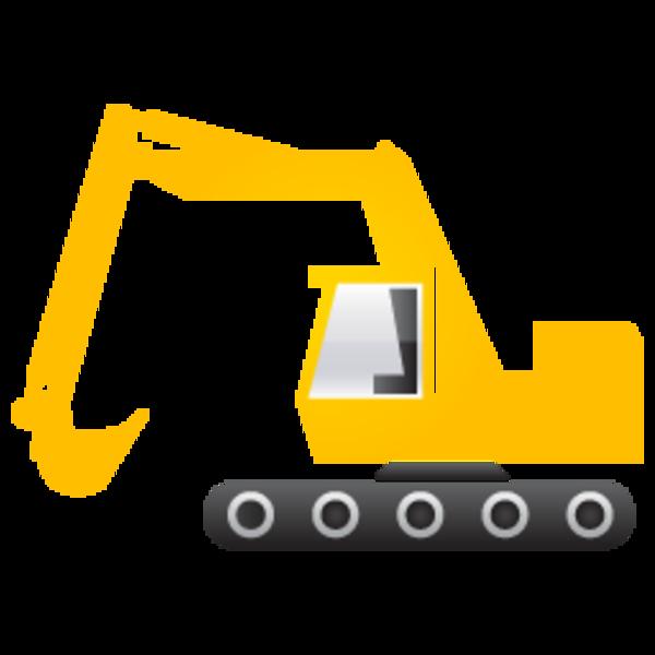 Excavator 256 | Free Images at Clker.com - vector clip art online ...