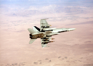 F/a-18 On Combat Mission Over Afghanistan. Image