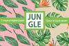 Jungle Flowers Clipart Image