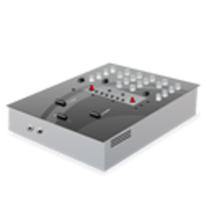 Mixing Desk Icon Image