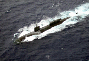 The Los Angeles-class Submarine Uss Greenville (ssn 772) Recently Completed Sea Testing For The Advanced Seal Delivery System (asds) Off The Coast Of Pearl Harbor, Hawaii Image