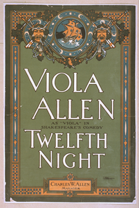 Viola Allen As  Viola  In Shakespeare S Comedy, Twelfth Night Image