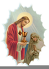 Communion In Christ Clipart Image