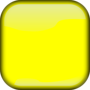 Yellow Square Button Clip Art