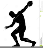 Discus Thrower Clipart Image