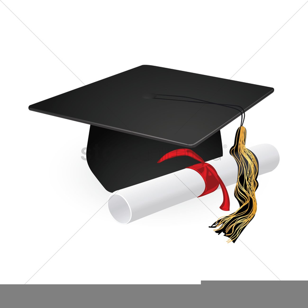 Graduation Cap And Gown Clipart | Free Images at Clker.com - vector ...