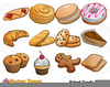 Bakery Items Clipart Image