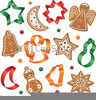 Christmas Cookie Cutter Clipart Image
