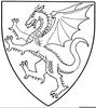 Heraldic Charges Clipart Image