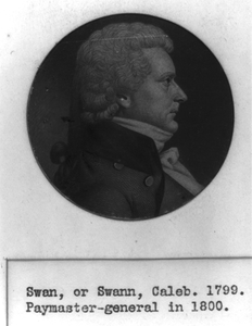 [caleb Swan, Head-and-shoulders Portrait, Right Profile] Image