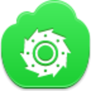 Free Green Cloud Cutter Image