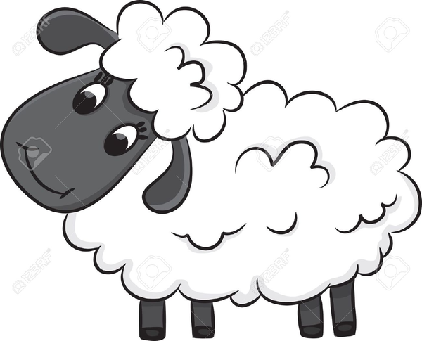 Free Shepherd Sheep Clipart | Free Images at Clker.com ...