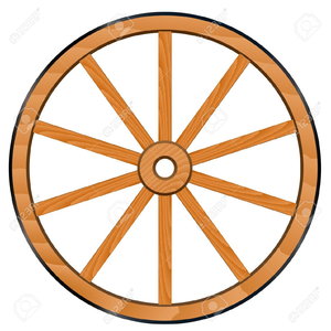 old wagon wheels clipart free images at clker com vector clip rh clker com wheels clipart wheels clipart free