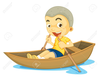 Clipart Of Wooden Boat Image