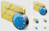 Credit Card Clock Image