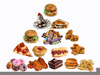 Clipart Of Junk Food Image