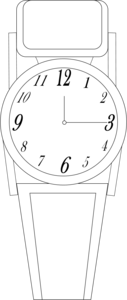 Watch Bw Image