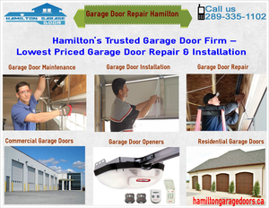 Garage Door Repair Hamilton Image