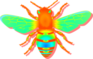 Bee Mix Color Image