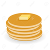 Pancake And Syrup Clipart Image