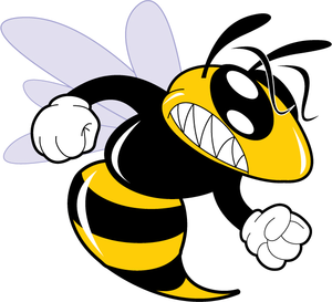 A Cartoon Hornet Clipart | Free Images at Clker.com ...