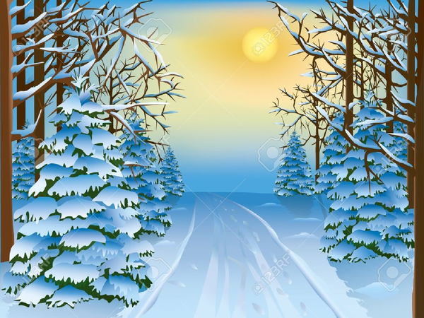 Winter Scene Free Clipart | Free Images at Clker.com ...