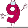 Math Numbers Clipart Image