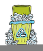 Recycling Bins Clipart Image
