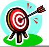 Arrow Target Clipart Image