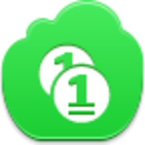Free Green Cloud Coins Image