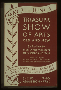 Treasure Show Of Arts Old And New Exhibited By Men And Women Of 3 Score And Ten. Image