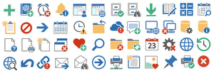 Pure Flat 2013 Icons Image