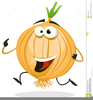 Running Vegetables Clipart Image
