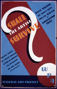 Shall The Artist Survive? Image