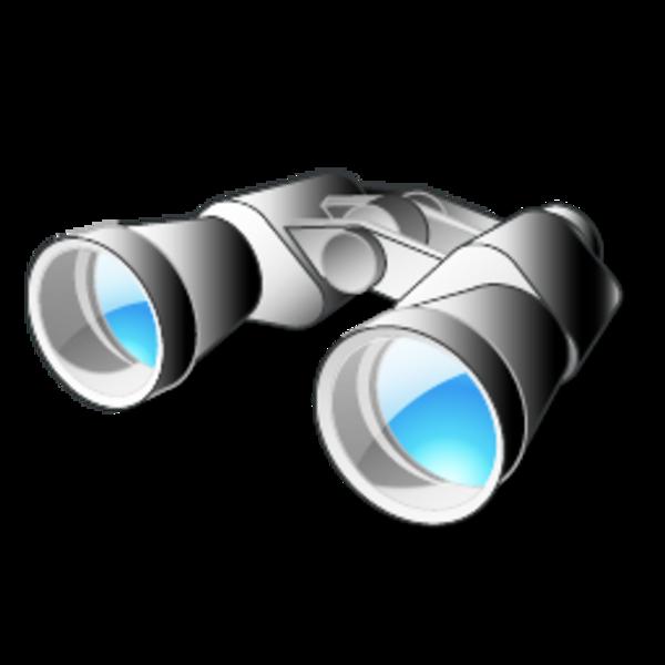 binoculars clipart - photo #4