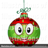 Christmas Ornament Clipart Image