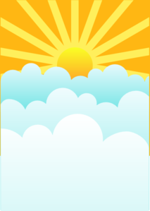Sunrays Clip Art