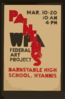 Wpa Federal Art Project Paintings, Barnstable High School, Hyannis Clip Art