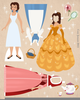 Free Clipart For Beauty And The Beast Image