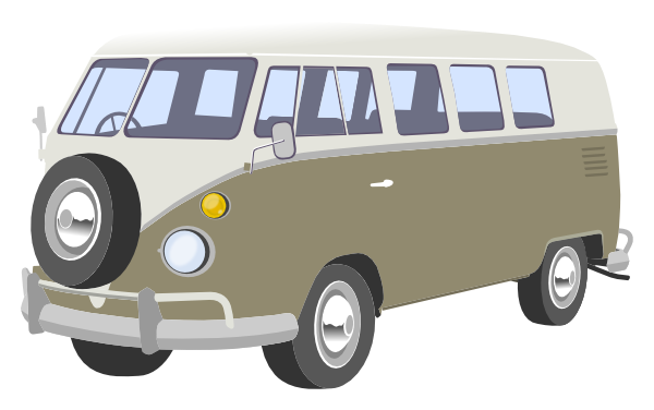 Camper Van Clip Art At Clker