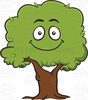 Free Clipart Cartoon Trees Image